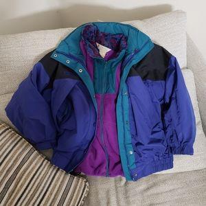 Vintage Columbia 2 in 1 winter coat